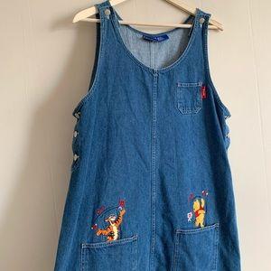 Disney's Winnie The Pooh Overall Dress